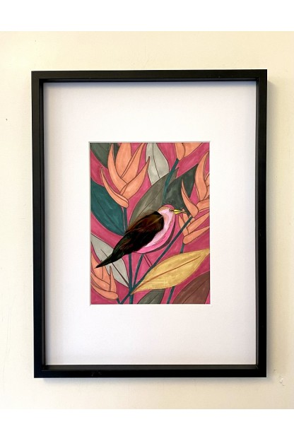 Feathers Frame : Color Block
