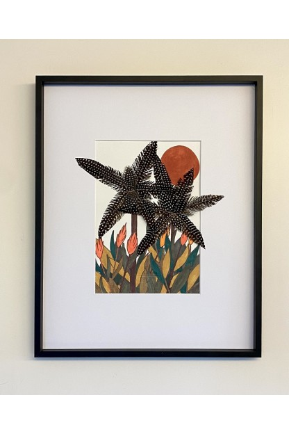 Feathers Frame : Luxuriant Palms
