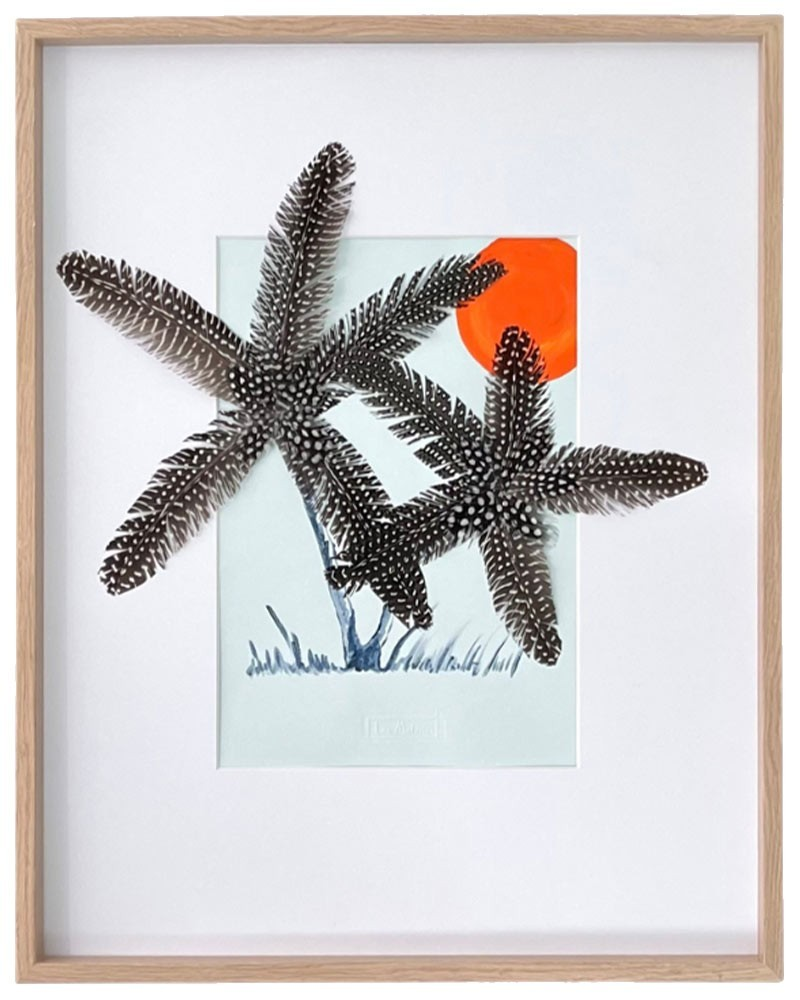 Feather Frame : Palms
